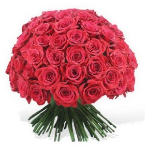 Bouquet elegante rose rosse